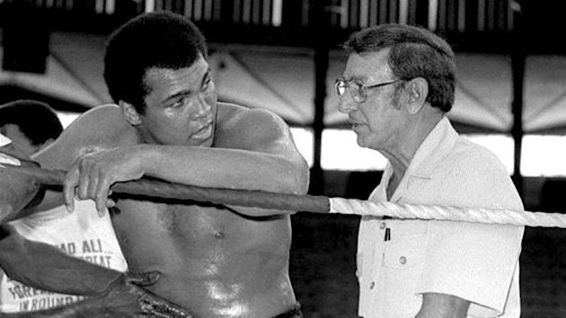 Celebrated boxing trainer Angelo Dundee, Muhammad Ali's cornerman in his greatest fights, has died at the age of 90. - 2