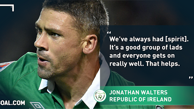 Walters hails Ireland's 'never say die' spirit ahead of Poland clash