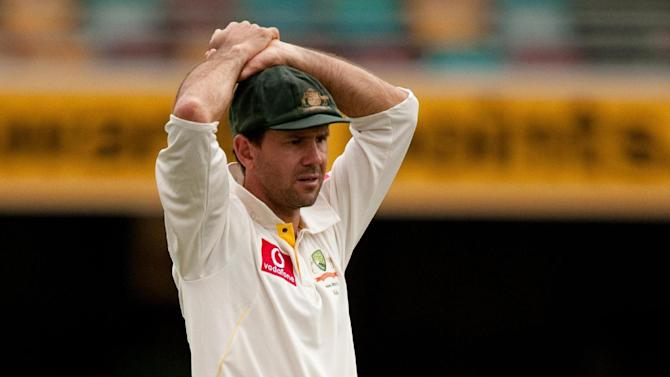 Ricky Ponting has been in poor form for Australia of late