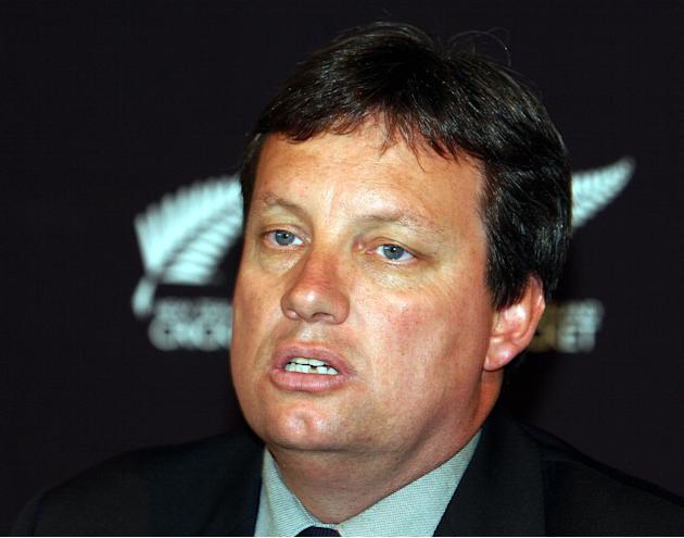 New Zealand Cricket CEO Martin Snedden announcing