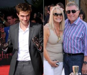 Robert Pattinson Makes Parents Proud at Hand and Footprint Ceremony