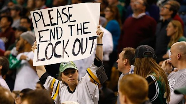 The NHL has been in lockout since September