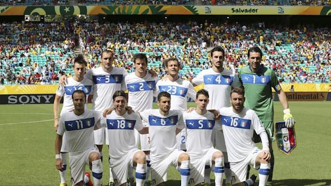 Brazil Soccer Confed Cup Uruguay Italy