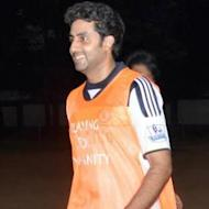 Abhishek Bachchan Practices With ASFC Despite Being Ill