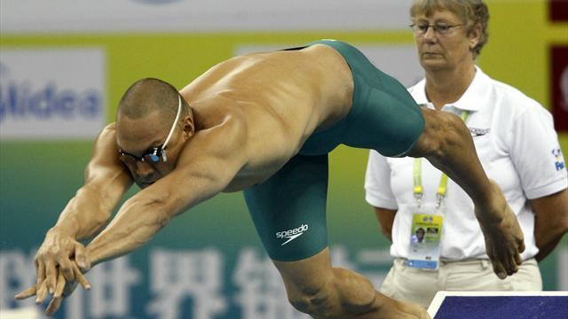 Swimming - Former Olympian Huegill pleads guilty to cocaine possession