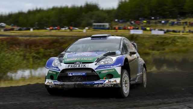 WRC - Wilson pleased with M-Sport's Ford Fiesta R5
