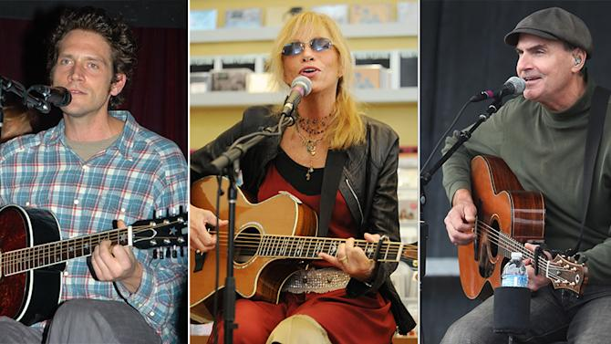 Ben Taylor, Carly Simon and James Taylor