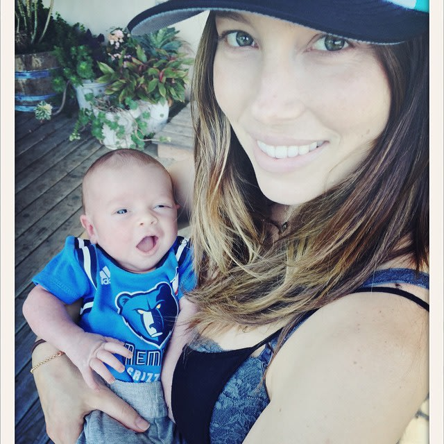 Justin Timberlake & Jessica Biel Share Sweet First Photo of Baby Silas