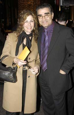 Premiere: Rita Wilson and Eugene Levy at the Hollywood premiere of Warner Bros. A Mighty Wind - 4/14/2003