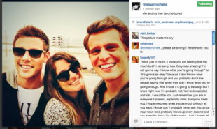 Cory Monteiths Death   How Glee Fans Responded Via Social Media image screen shot 2013 07 20 at 8 11 02 pm