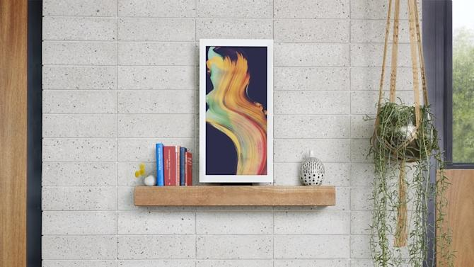 Electric Objects delivers curated digital artwork to your living room wall