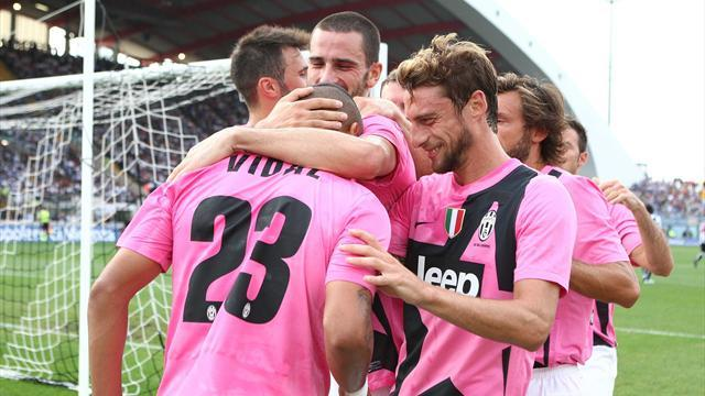 Serie A - Juventus coast past 10-man Udinese