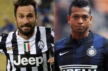 Juventus in talks with Inter over Vucinic-Guarin exchange