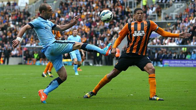 Manchester City vs. Hull City: Wounded Tigers must avoid 'a pasting', warns Davies