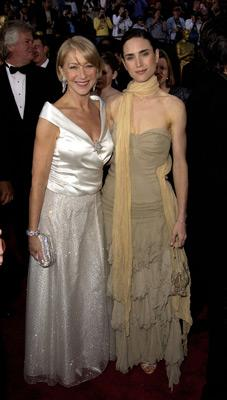 Helen Mirren and Jennifer Connelly 74th Academy Awards Hollywood, CA 3/24/2002