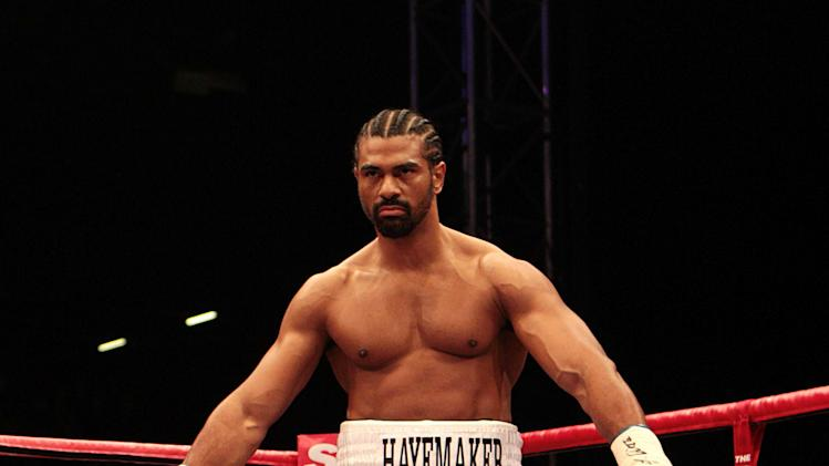 Boxing - David Haye File Photo