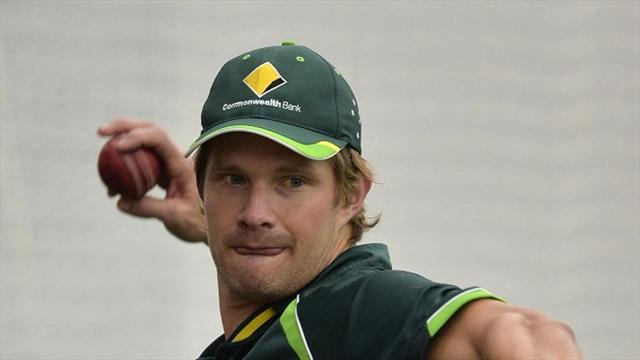 Cricket - Rested Watson to miss three one-dayers against England