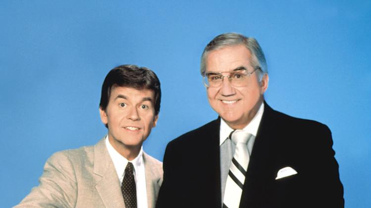 Dick Clark and Ed McMahon