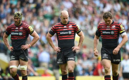Rugby Union - Aviva Premiership - Final - Saracens v Northampton Saints - Twickenham Stadium