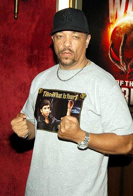 Premiere: Ice-T at the New York premiere of Paramount Pictures' War of the Worlds - 6/23/2005