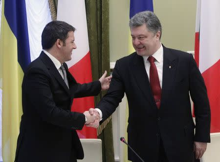 Italy PM Renzi says Ukraine sovereignty must be respected