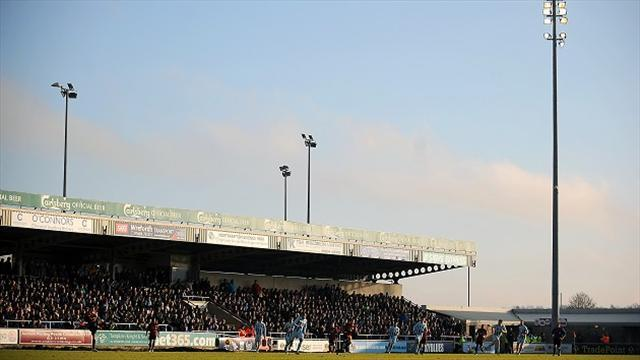 Football - Spireites clash off