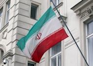 "The Iranian flag flies at the Iranian permanent mission to the UN and the International Atomic Energy Agency (IAEA) in Vienna. The IAEA pressed Iran for greater cooperation in their first meeting since a ""failed"" visit in February"