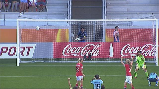 Women's Euro - Paredes nets own goal as Norway oust Spain