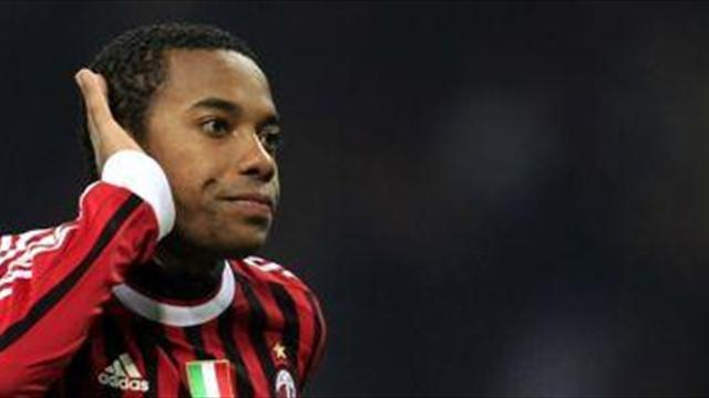 South American Football - Robinho: I'd have taken pay-cut to quit Milan