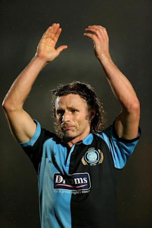 Wycombe caretaker player-manager Gareth Ainsworth described his team's display as 'superb'