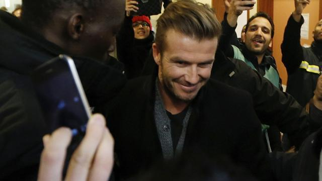 Ligue 1 - PSG complete Beckham deal