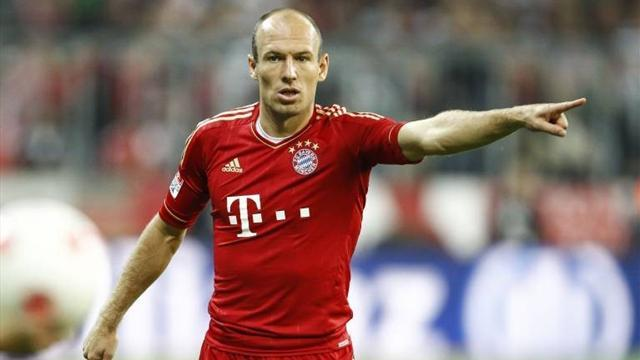 Bundesliga - Robben still sidelined by thigh problem