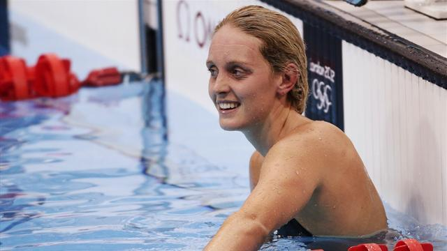 Swimming - Halsall proud despite USA comeback win at Duel in the Pool