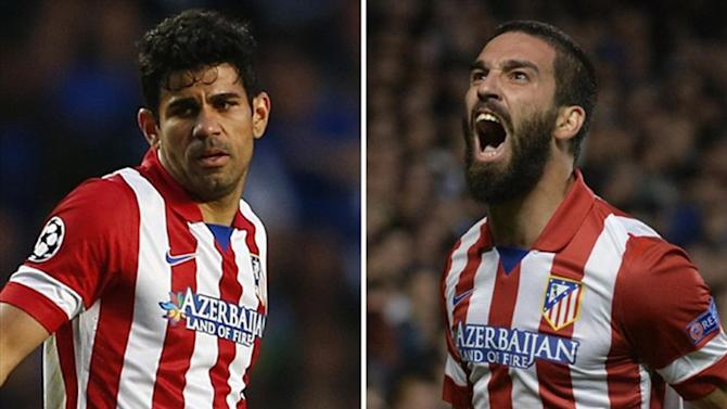 Champions League - Costa, Turan train ahead of Saturday's final