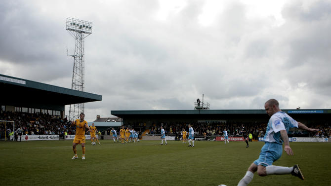Tuesday's clash between Torquay and Yeovil at Plainmoor has been called off