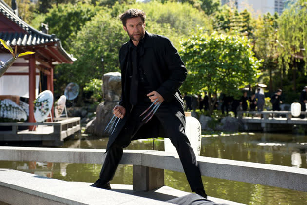 Blood on the dance claw... new still from The Wolverine (Credit: 20th Century Fox)