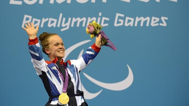 Simmonds swims to second Paralympic gold