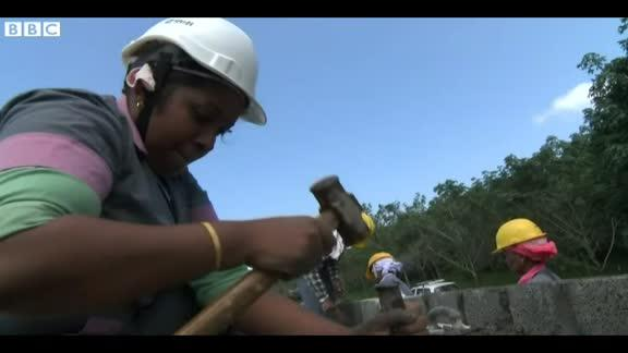 India's women-only building sites