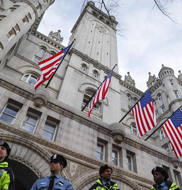 federal government trump hotel conflict