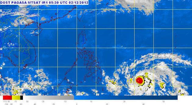 Filipinos are urged to prepare as typhoon 'Pablo' (international name 'Bopha') is seen to enter the Philippines late Sunday and hit several areas in Visayas and Mindanao.