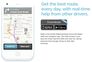 Google Leaves Facebook in the Dust in Waze Bidding War with $1.3 Billion Offer image Waze Screen shot 685x460