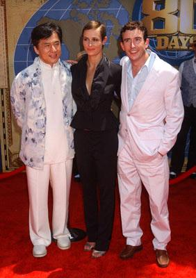 Premiere: Jackie Chan, Cecile de France and Steve Coogan at the Hollywood premiere of Walt Disney's Around the World in 80 Days - 6/13/2004