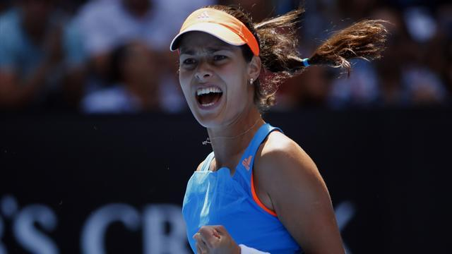 Tennis - Ivanovic scrapes past Wozniacki to make Monterrey final