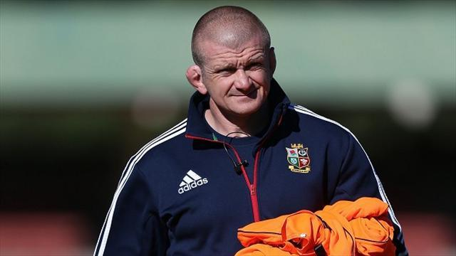 Lions Tour - Rowntree fires warning at Lions forwards