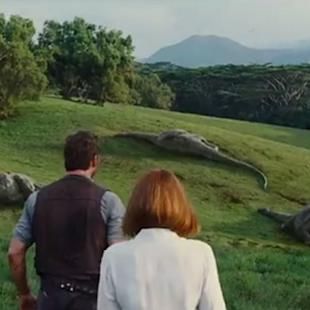 Chris Pratt Hunts Dangerous Dinosaur in New 'Jurassic World' Teaser (Video)