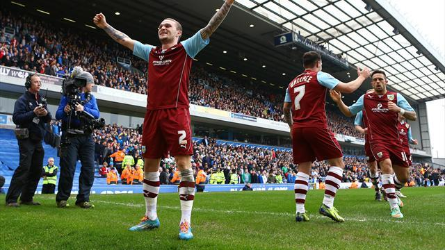 Championship - Ings goal wins East Lancashire derby for Burnley