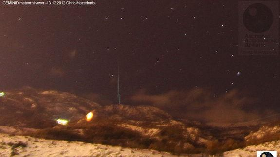 Early Reports Suggest Spectacular Geminids Meteor Show Tonight