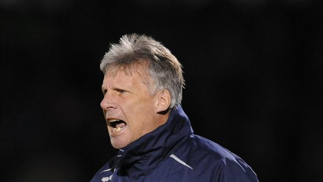 Football - Ward takes positives from cup exit