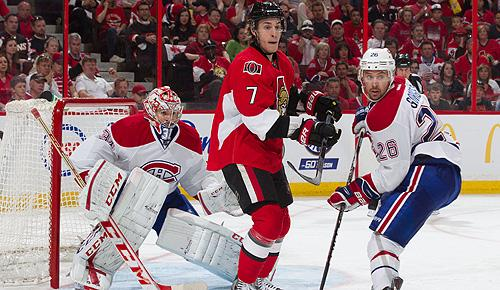 Montreal Canadiens vs. Ottawa Senators in 2013 NHL playoffs