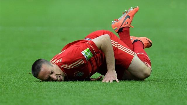 Champions League - Bayern's Ribery to miss Arsenal first leg after buttocks surgery